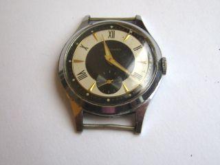 Vintage Armbanduhr Junghans Cal 93 Vintage Watch Germany Bild