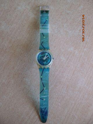 Swatch Armbanduhr Plastik 1999 Uhr Citypass Access Top Bild