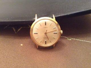 Alte Herren Armbanduhr Timex Bild