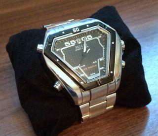 Bellos Armbanduhr Analog & Digital,  Neuwertig - In Ovp & Bis 12/2015 Bild