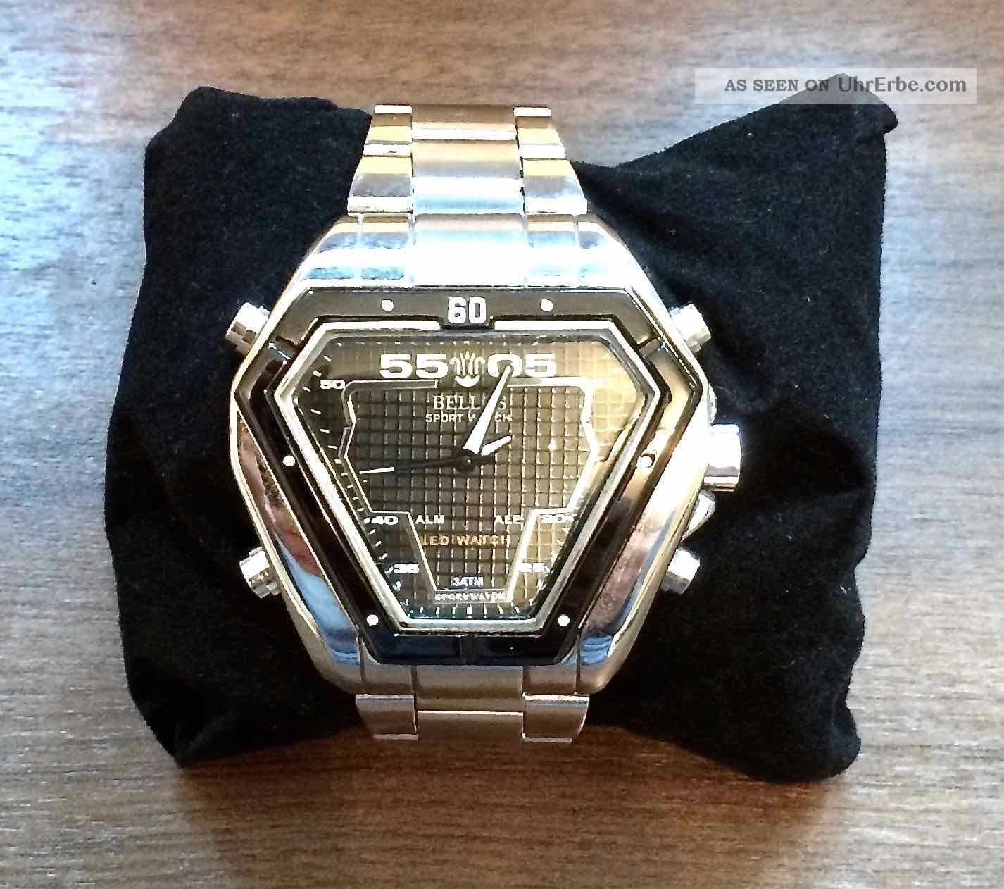 Bellos Armbanduhr Analog & Digital, Neuwertig