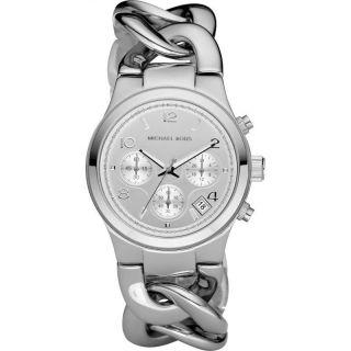 Michael Kors Damenuhr Armbanduhr Silber Edelstahl Mk3149 Uvp 199 Bild