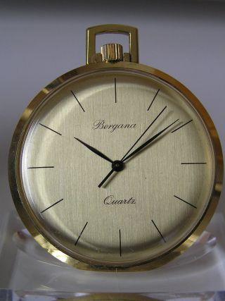 Klassische Bergana Quartz Taschenuhr - Esa 9362 Bild