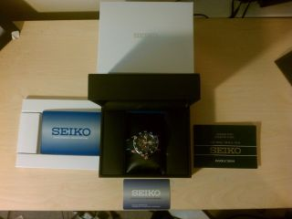 Seiko Sportura Kinetic Perpetual Day & Date Rose Gold Plated Bild