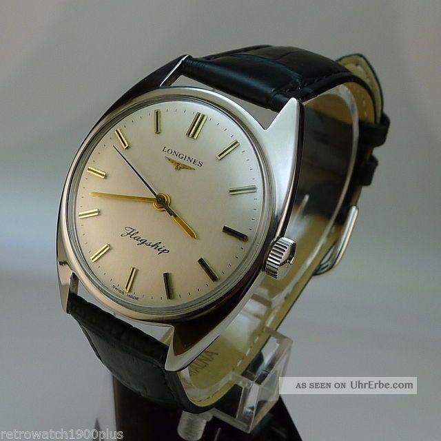 Longines Flagship 17 Jewels.  Kaliber 284.  Hochwertiger Klassiker Armbanduhren Bild