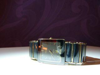 Rado Diastar Ceramica,  Luxus - Herren - Armbanduhr,  Gold/keramik,  Quartzlaufwerk Bild