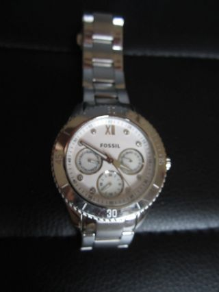 Fossil Armbanduhr Uhr Fossil Bild
