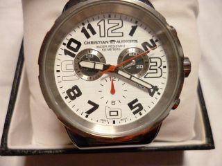 Christian Audigier Chronograph Herrenuhr,  Aus Meiner Uhren Sammlung Bild