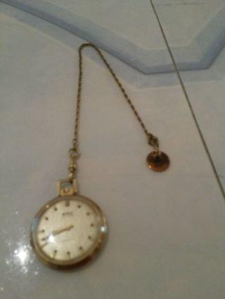 Bwc Swiss Incabloc Taschen - Uhr Mit Uhrkette Bild