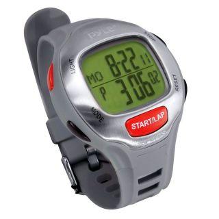 Pyle Sport Uhr Für Männer Puls Marathon Alarm Chronograph Wasserfest 30m Bild
