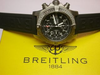 Breitling Avenger Chrono Titan Automatik Chronometer 46mm Mit B,  P Bild
