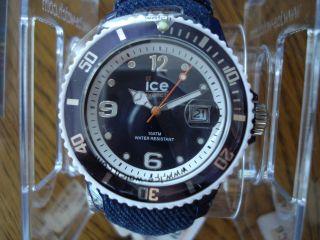 & Orig.  Ice Watch Denim - Dark Blue Armbanduhr.  De.  Dbe.  U.  J.  13 Bild