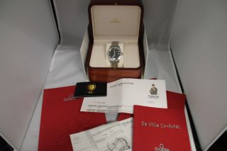 Hau Omega De Ville Co - Axial Stahl Mit Seltenem Armband Bild