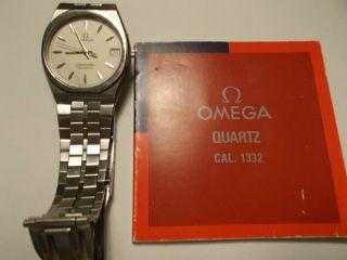 Omega Seamaster Quartz Cal.  1332 Bild