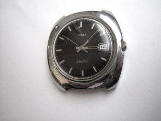 Timex Electric Vintage Watch 1960 Er Jahre Frühe Elektrouhr Bild