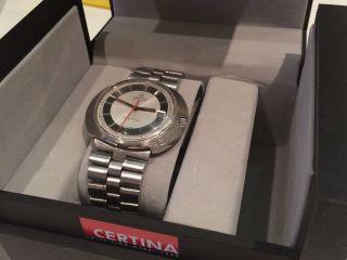 Certina Revelation Automatic Herrenuhr Made Swiss.  Mit Box Vintage Bild