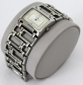 Fossil Es F2 Armbanduhr Für Damen (es1751) Uhr Edelstahl Silber Bild