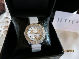Sehr Schöne Keramik Uhr Chronograph Jette Joop Ovp Bild