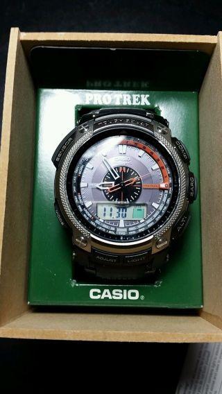 Casio Pro Trek Prw5000 - 1er Armbanduhr Für Herren Bild