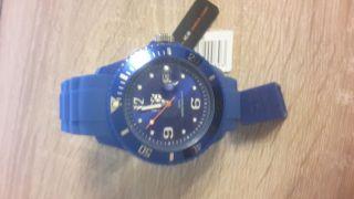 Ice Watch In Blau Groß Und Ungetragen Bild