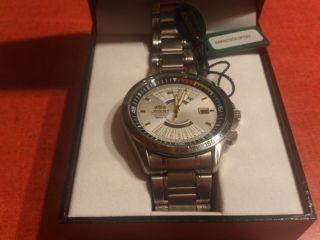 Orient Multi Years Calender Automatik Watch Uhr Mit Box Neuwertig Bild