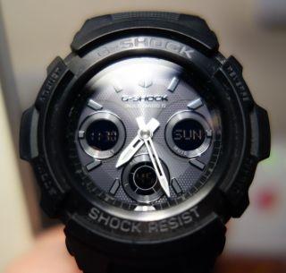 Casio G - Shock Awg - M100b - 1aer Armbanduhr Funk Solar Bild