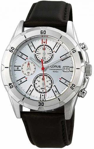 Lorus By Seiko Herrenuhr Chronograph Rm389bx - 9 Herren Sport Uhr Watch Bild