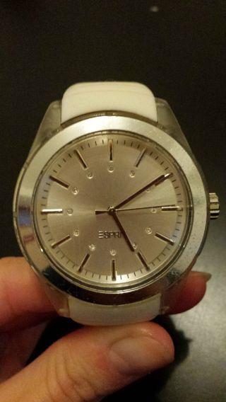 Edc Esprit Uhr Weiß Bild