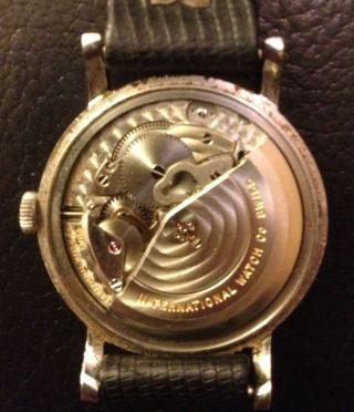 Armbanduhr Iwc Herren Automatic Schaffhausen Ko - 1462 Automatik Uhr Bild