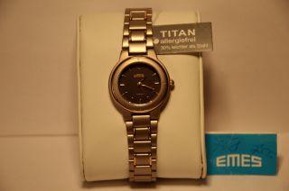 Emes Titan 14/7073 Damen - Armbanduhr Uhr Neuwertig/ungetragen Eta 902.  105 Swiss Bild