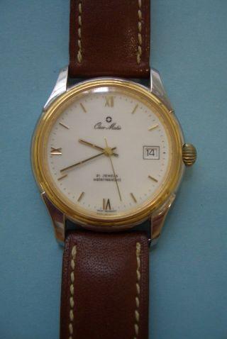 Herren Armbanduhr Osco Matic Uhr Bild
