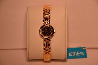 Emes 02/207a Damen - Armbanduhr Uhr Neuwertig/ungetragen Mit Citizen Miyota 5y20 Bild