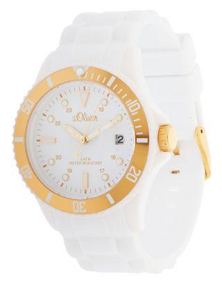 S.  Oliver Damen Armbanduhr Weiß So - 2735 - Pq Bild