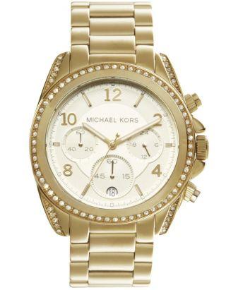 Michael Kors Mk5166 Damenuhr Armbanduhr Gold Ovp Bild