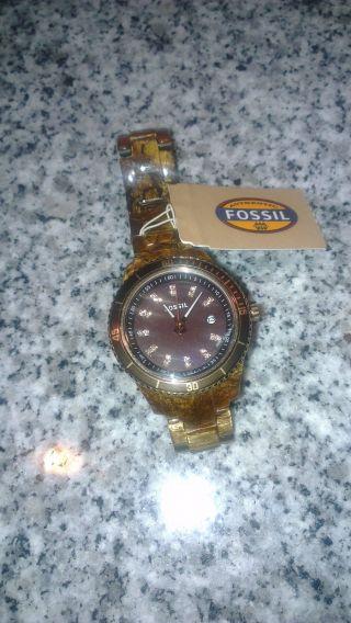 Fossil Stella Es3092 Armbanduhr Für Damen Bild
