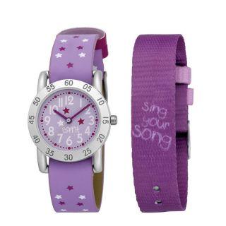 Esprit Mädchen Armbanduhr Pink Rosa Violett Lila 2 Armbänder Sing Your Song Bild