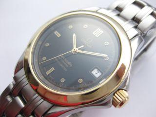 Omega Seamaster 120m Edelstahl / 18 Karat Gold Automatic Chronometer 2301.  50.  00 Bild