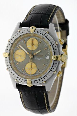 Breitling Early Chronomat Windrider 81.  950 B13047 Edelstahl/gold - 90ies - Box Bild