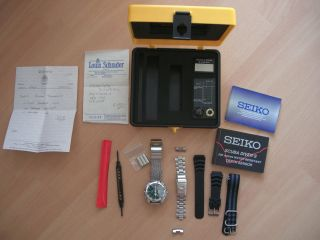 Seiko Scuba Divers Sld005p Depth Sensor - Professional Military Dive Watch - Ovp Bild
