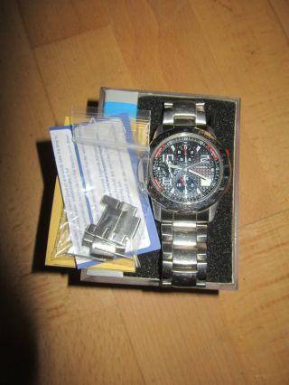 Casio Chronograph Wvc - 550 Funkuhr Wave Ceptor Quarz Edelstahlband Bild