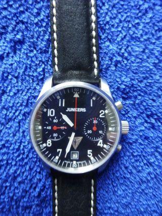 Junkers Mechanischer Chronograph Limited Edition (handaufzug Poljot P 3133) Bild