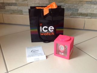 Ice Watch - Ice Mini Pink - Mädchen Uhr Kinderuhr Armbanduhr Flick Flack Ovp Bild
