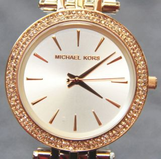 Michael Kors Damenuhr Mk - 3203 Damenchronograph Bicolor - Bild