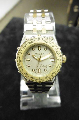Breitling Tabarly Lady Ref.  80790 Dau Hau Damenuhr Luxus Klassisch Uhr Quarz Bild