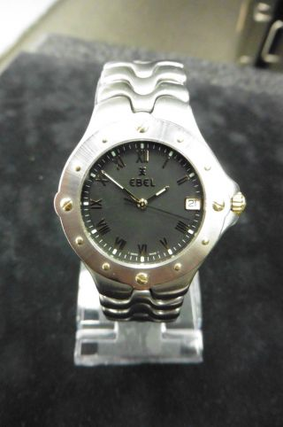 Ebel Sportwave E 6187631 Dau Hau Damenuhr Luxus Klassisch Uhr Quarz Bild