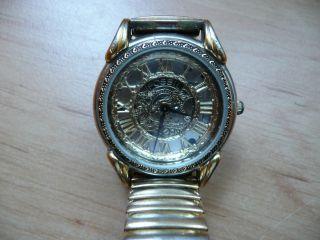 Fossil Authentic Sk - 4915 Skelettuhr,  Damenuhr,  Armbanduhr,  Mit Zugarmband, Bild