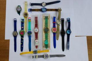 Konvolut Swatch Uhren - 16 Stück /
