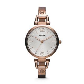 Fossil Georgia Armbanduhr Für Damen Es3110,  Damenuhr.  Nagelneu Mit Etikett Bild