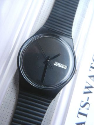 Swatch,  Gent,  Gb711 White Window,  Neu/new Bild