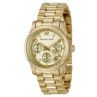 Michael Kors Gold Edelstahl Armbanduhr Damenuhr Armbanduhr Mk5055 Bild